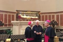 2017_mar_6_TORTONA_visita al Santuario di Mons. Edoardo Aldo Cerrato_vescovo d\'Ivrea_mdg