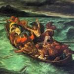 gesù barca tempesta