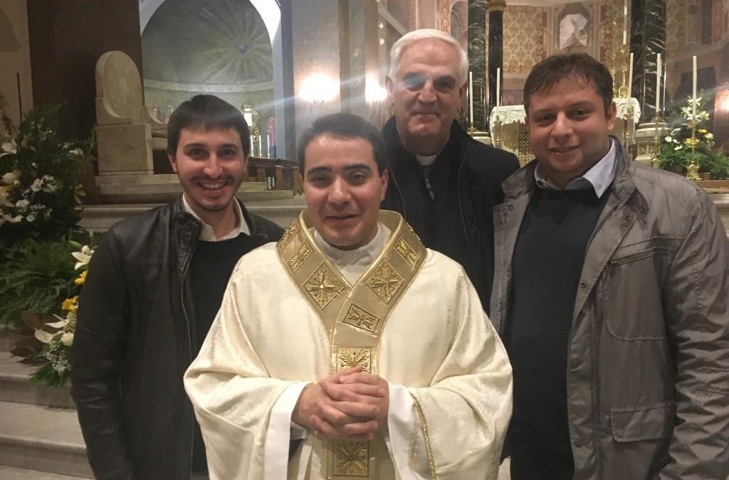 """Ordinato sacerdote ad Ascoli Piceno Don Fulvi Francesco """"sacerdote con lo spirito orionino""""_VIDEO_AUDIO e FOTO"""