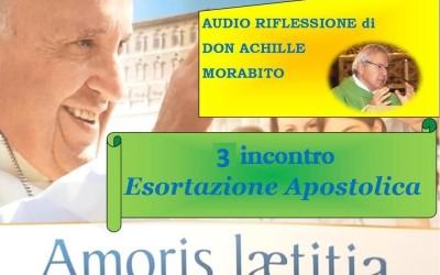 Amoris Laetitia 3 incontro_ relatore don Achille Morabito_ AUDIO riflessione