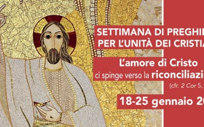 18-25 gennaio Settimana per l'Unità dei Cristiani – in Sanutario SABATO 21 ore 17 Messa per l'Unità dei Cristiani_ SCARICA IL SUSSIDIO e la LOCANDINA con le Celebrazioni quotidiane in Tortona