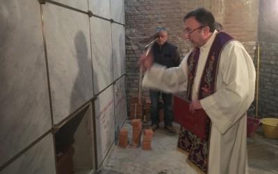 Tumulato nella Cripta del Santuario il sacerdote Don Antonio Marangon