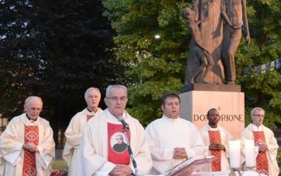 24 giu_Messa al Monumento di Don Orione a Pontecurone presieduta da Don Flavio Peloso- AUDIO omelia – FOTO