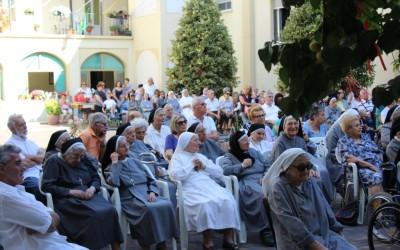 25 giu: Festa della Casa Madre delle Suore di Don Orione – FOTO ed AUDIO omelia don Vanoi e saluto della Madre Mabel Spagnuolo