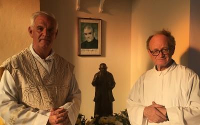 LUNGAVILLA: Benedetta Statua di Don Orione nella Cappella della Famiglia di Don Orlandi_OMELIA e VIDEO BENEDIZIONE ed ANNUNCIO NOVENA DELLA GUARDIA