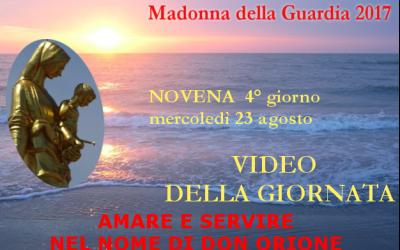 23 ago: Maria donna del servizio – VIDEO 4° giornata della Novena