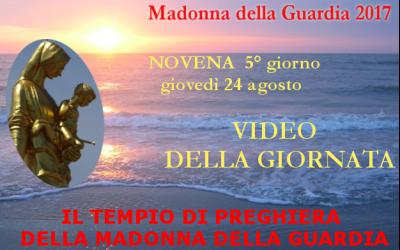 24 ago: Maria nel Tempio del Signore – VIDEO 5° giornata della Novena