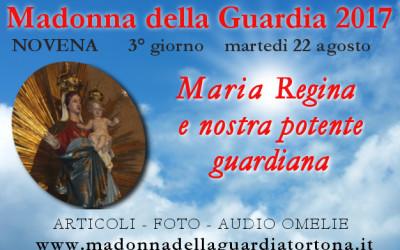22 ago: 3 giorno della Novena – Maria Regina di grazia– FOTO ed AUDIO OMELIE