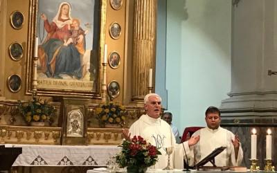 CASEI GEROLA: Il rettore ha presieduto durante la Novena alla Madonna delle Grazie – AUDIO omelia