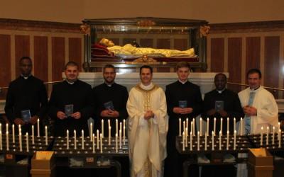 8 sett: Prime Professioni religiose di cinque novizi_FOTO e AUDIO omelia