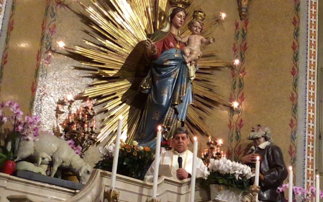 8 dic: IMMACOLATA CONCEZIONE_video e benedizione don Cesare CONCAS