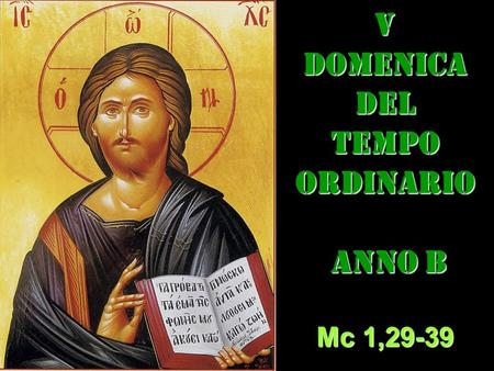 V dom del Tempo Ordinario – AUDIO commento di don Achille Morabito