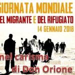 Giornata mondiale del migrante e del rifugiato nel carisma di Don Orione – VIDEO testimonianza