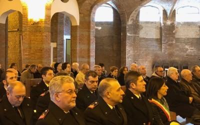 Nella Cripta del Santuario il precetto pasquale dell'arma dei Carabinieri di Tortona.