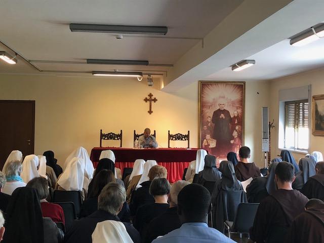 28 apr: Celebrato il Giubileo dei religiosi e religiose – AUDIO conferenza don Achille Morabito
