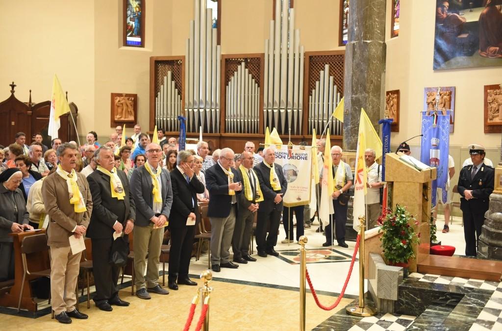 27 mag: Concluso in Santuario il 1° Raduno Nazionale Ex-Allievi a Tortona – FOTO