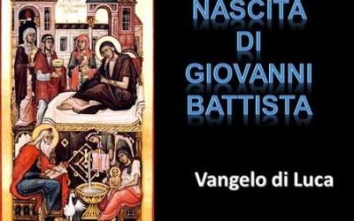 NATIVITA' GIOVANNI BATTISTA – AUDIO commento di don Achille Morabito