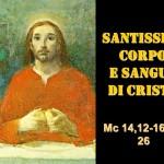 CORPUS DOMINI- AUDIO commento di don Achille Morabito