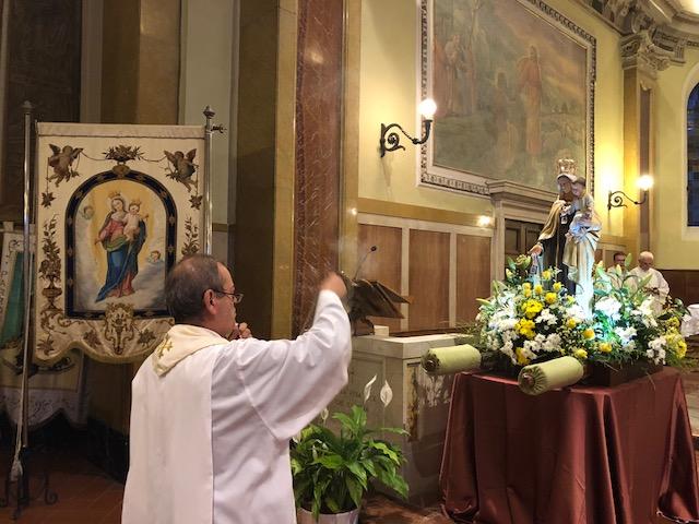 16 lug: Celebrata la Festa della Madonna del Carmine – FOTO e AUDIO OMELIA