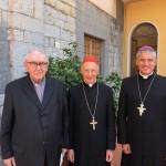 Genova (Paverano): Festeggiato l'80 compleanno di Mons. Canessa, vescovo emerito di Tortona.