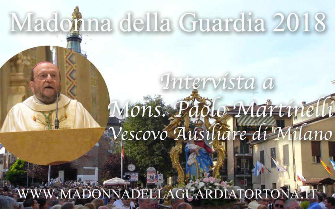 Intervista a S.E. Mons. Paolo Martinelli – predicatore dei tre giorni centrali della Novena