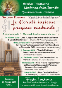 2018 Locandina Corali mensili_Santuario Tortona_mdg