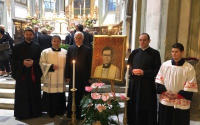Garbagna: Celebrazione e benedizione di un quadro in onore di San Josè Marìa Escrivà de Balaguer – audio omelia e video di don VANOI