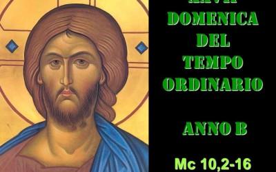 XXVII DOM DEL T.O. – AUDIO commento di Don Achille Morabito