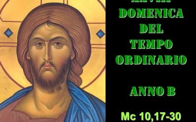 XXVIII DOM DEL T.O. – AUDIO commento di Don Achille Morabito