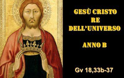 CRISTO RE – AUDIO commento di Don Achille Morabito