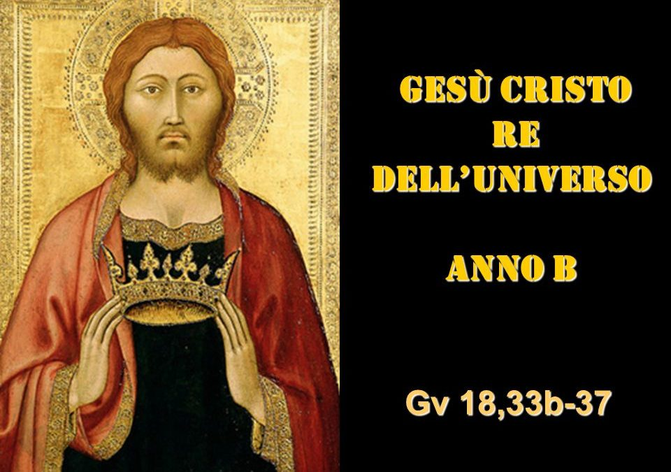 CRISTO RE – AUDIO commento di Don Achille Morabito