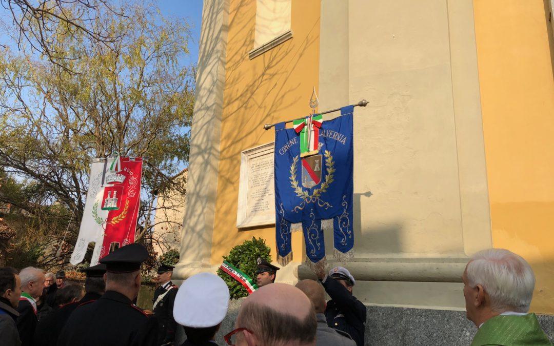 A Villalvernia il rettore ha presieduto il ricordo del bombardamento del 1944