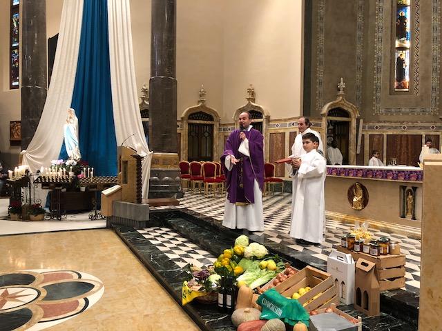 2 dic: Celebrata al Santuario la festa del ringraziamento
