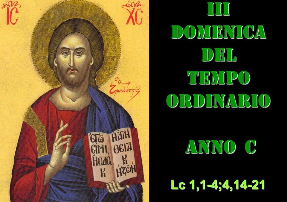 III DOM DEL T.O. – anno C– AUDIO commento di Don Achille Morabito
