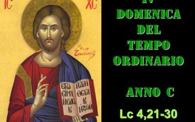 IV DOM DEL T.O. – anno C– AUDIO commento di Don Achille Morabito