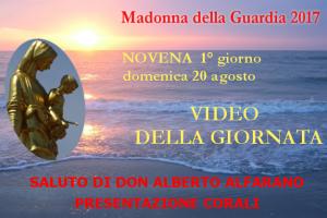 20 ago: Video saluto del predicatore don Alberto Alfarano e presentazioni delle Corali – GUARDA I VIDEO