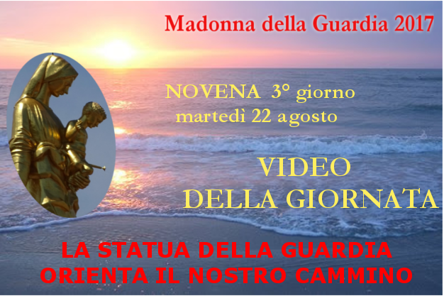 22 ago: Maria orienta il nostro cammino – VIDEO 3° giornata della Novena