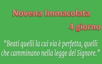 4 giorno Novena Immacolata: VIDEO pensiero di don Cesare Concas
