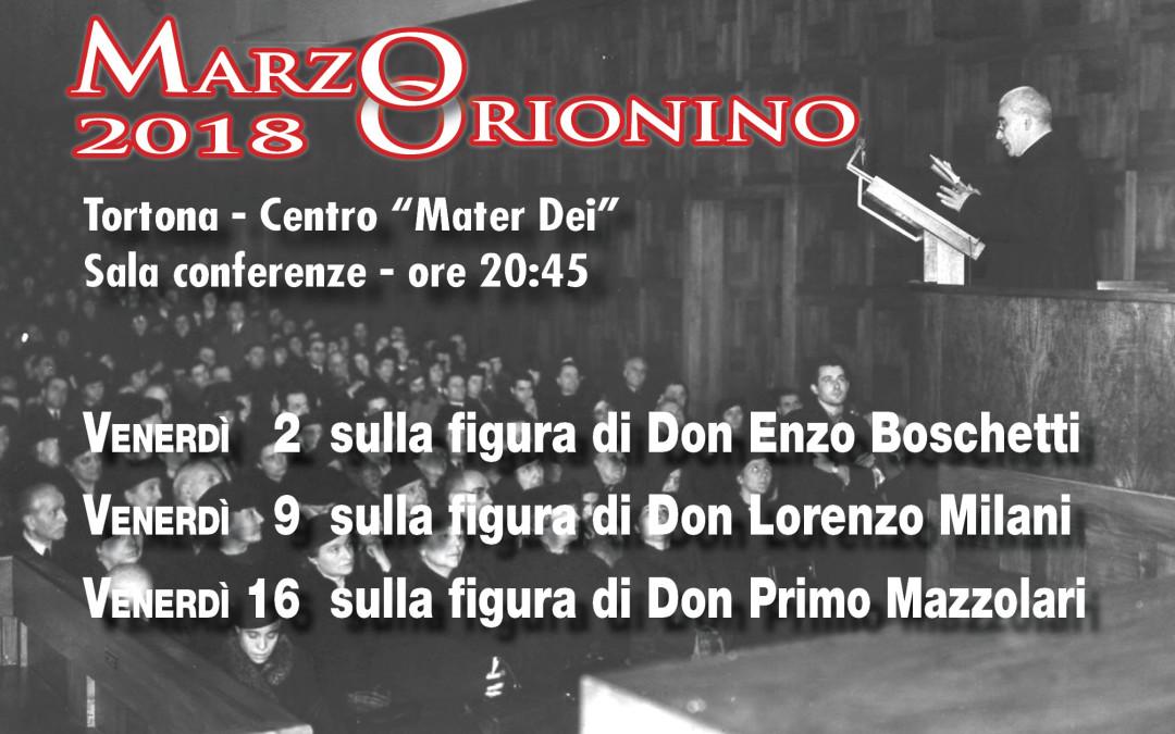 """RITORNA IL """"MARZO ORIONINO"""" A TORTONA"""