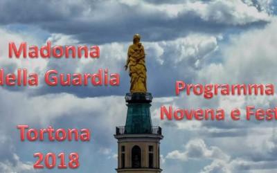 MADONNA DELLA GUARDIA 2018 – PROGRAMMA NOVENA E FESTA  – scarica e condividi
