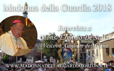 Intervista a S.E. Mons. Erminio De Scalzi – predicatore degli ultimi tre giorni della Novena