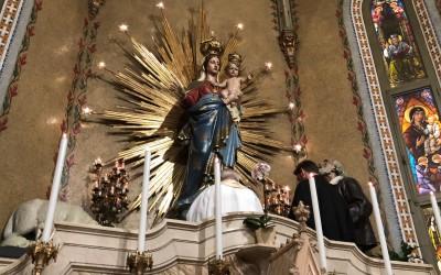 7 ott: Recitata la Supplica alla Madonna di Pompei