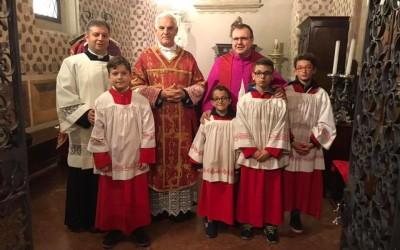 22 ott: Il rettore presiede a Casei Gerola per San Fortunato