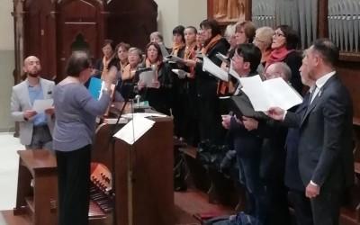 """Il Coro della Cattedrale di Casale Monferrato apre l'anno dei """"cori mensili"""" in Santuario."""