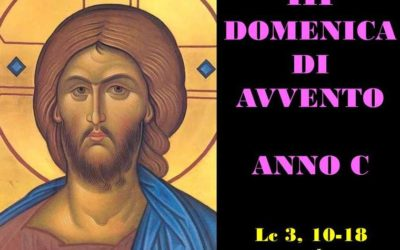 III AVVENTO – AUDIO commento di Don Achille Morabito