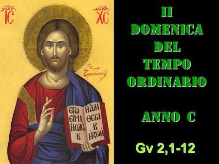 II DOM DEL T.O. – anno C– AUDIO commento di Don Achille Morabito