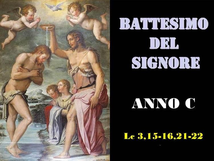 BATTESIMO DEL SIGNORE – AUDIO commento di Don Achille Morabito
