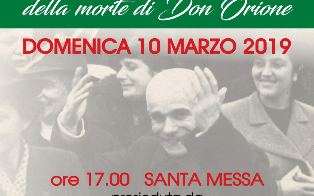 Domenica 10 marzo alle ore 17 mons. Testore presiederà in Santuario il ricordo della morte di Don Orione