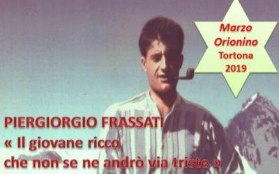 29 mar_ Terzo incontro del Marzo Orionino su Piergiorgio Frassati – AUDIO conferenza