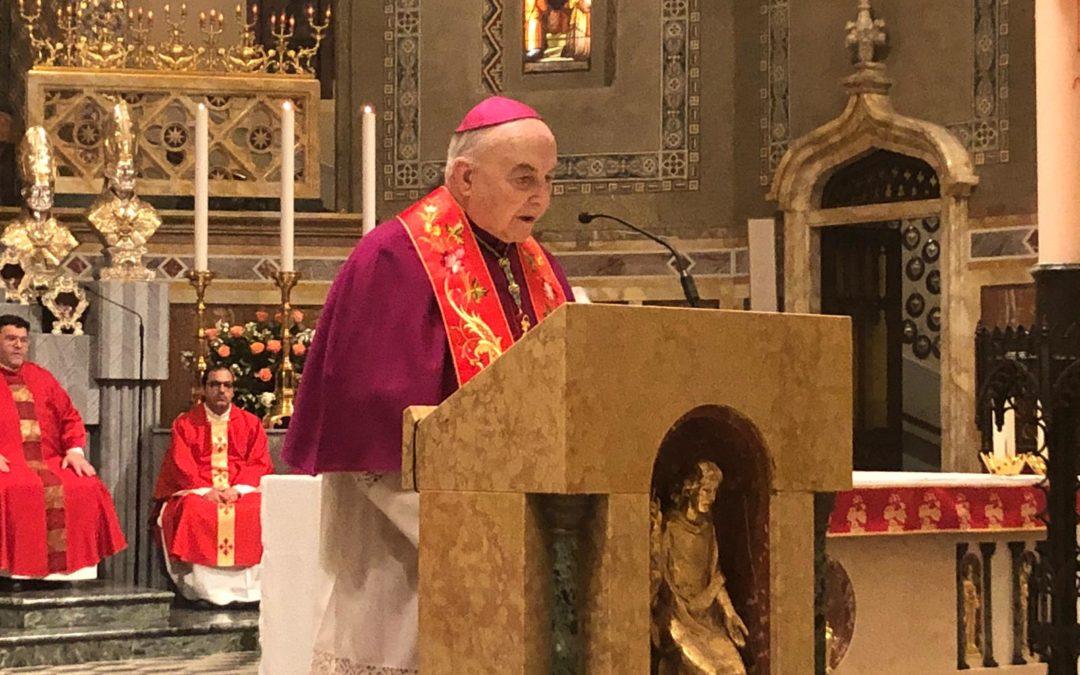 13 mag: Inizio triduo in preparazione alla festa di San Luigi Orione – FOTO e AUDIO omelia Mons. Andrea Gemma